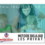 Metode Belajar Les Privat